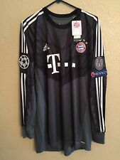 Germany bayern Munich Neuer Trikot  Player Issue Adizero Match Unworn shirt