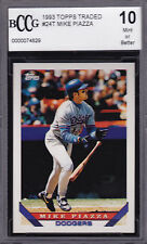 1993 TOPPS #24T TRADED  MIKE PIAZZA RC  HOF CLASS OF 2016
