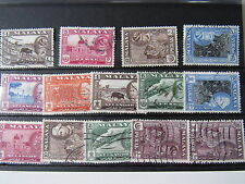 Malaya Used Stamps