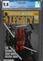 Star Wars Legacy 1 CGC 9.8 Dark Horse 2006 1st Darth Krayt Nihl Cade Skywalker