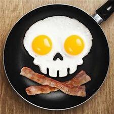 Herramienta de cocina de cocina diseño único de molde de silicona goma Huevo huevos de cráneo Antiadherente
