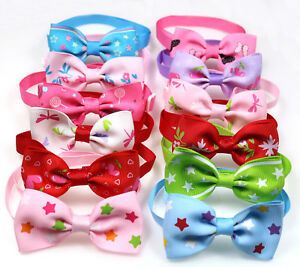 Choose Patterns Wholesale Pet Dog Bow Ties Adjustable Dog Bowties Pet Supplies