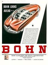 ART PRINT Poster publicité Bohn voiture Detroit 1942 nofl1557