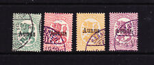 FINLAND. OCCUPATION OF AUNUS. 4 X USED.