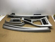 BMW 3 SERIES E90 E91 SILVER INTERIOR DASHBOARD DOOR CARD TRIM SET