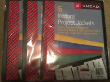 Smead Inndura Poly Project Jacket - 5 per pack Lot Of 3 Packs 15 Total