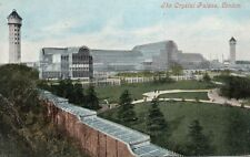 The Crystal Palace London 1906 Original Postcard (96L)