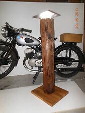 Alte Balken Stehlampe Indirekte Beleuchtung mit LED Lampe Altholz Licht  Holz