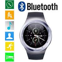 Smart Watch Phone Bluetooth Wristwatch for Men Android Samsung Motorola LG ASUS