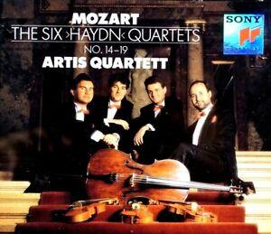 """Mozart: The 6 """"Haydn"""" Quartets No. 14-19, Artis Quartett - CD, VG"""