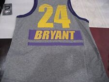 BOYS YOUTH LA LOS ANGELES LAKERS KOBE BRYANT #24 Jersey M MEDIUM 10/12  NWT