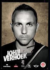 John Verhoek Autogrammkarte FC ST Pauli 2013-14 Original Signiert+A 98025