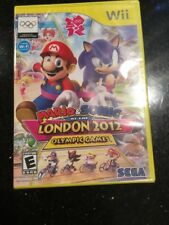 Mario & Sonic at the London 2012 Olympic Games Nintendo Wii Factory Sealed!