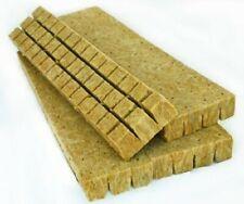 "1.5"" x 1.5"" x 1.5"" 49 Mini Blocks cubes w/ Holes rockwool Grow Habit"