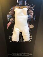 Hot Toys Star Wars Animated Boba Fett White Body Padding loose 1/6th scale