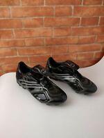 KIDS BOYS ADIDAS F10.6 TRX FG BLACK FOOTBALL BOOTS TRAINERS UK 5.5