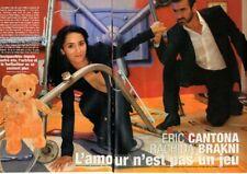 Coupure de presse Clipping 2007 Rachida Brakni Eric Cantona  (6 pages)