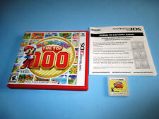 Mario Party: The Top 100 Nintendo 3DS XL 2DS Game w/Case & Insert