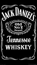 NEW A5 size Jack Daniel's Tennessee Whiskey Airbrush Stencil Template Paint
