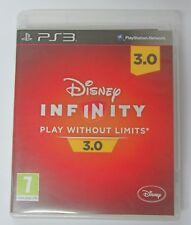 PS3 DISNEY INFINITY 3.0 ONLY CD GAME SOFTWARE CD +BOX  PAL USED