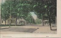 Postcard Belvidere Ave Washington NJ