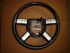2005-07 Chrysler 300 300C Factory Mopar Dark Slate Grey Leather Steering Wheel