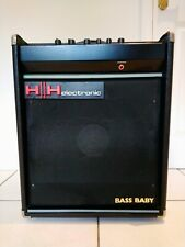 More details for hh studio 60 bass baby bass amp and extension cabinet c. 1983.