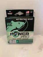 Power Pro 10-0500-G Green Braided Spectra  500Yd Fishing Line 10Lb. Test 9870