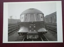 POSTCARD LTM 464 LONDON TRANSPORT EXPERIMENTAL STREAMLINED TRAIN 1936