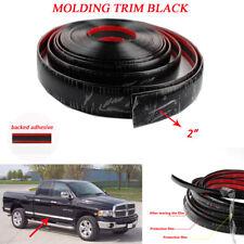 2 Car Black Chrome Trim Molding Auto Body Door Side Tailgate Bumper Strip 7feet Fits 2013 Lexus Rx350