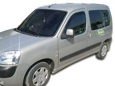 Peugeot Partner 3 puertas 2002-2008 conjunto de frente viento desviadores 2pc Heko Teñido