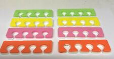 4 pares de dos tonos separadores TOE ESPUMA SUAVE