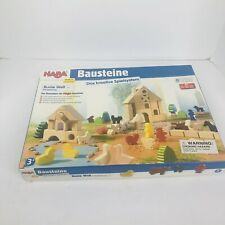 Germany Hans Bausteine Bunte Welt Wooden trees people Pieces Farm Animals toys