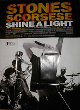 Rolling Stones Scorsese  Shine A Light Original French Cinema poster 120 x 160cm