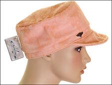 Bnwt Woman's Oakley Twist Military Hat Cap Beanie Logo Front New Peach New M/L