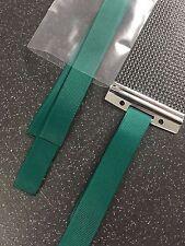 6 x rullante cinghie Filo Nastro Corda Corda rullante fili verde scuro HI QUALITY