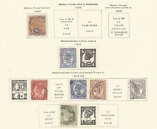 Queensland ^1903-09 Victorias Classics on page $@ sc410xxbquee