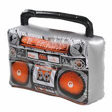 Adults Rapper Accessories Mens Ladies Hip Hop 80s Fancy Dress Boom Box Prop
