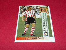 R.V. CANALS C.D. LOGRONES PANINI LIGA 96-97 ESPANA 1996-1997 FOOTBALL