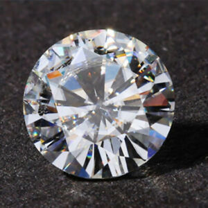 Natural Diamond 2CT 8mm Round AAAAA VVS D color Loose Diamond