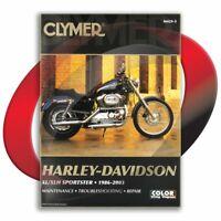 1988-2003 Harley Davidson Sportster XLH1200 Repair Manual Clymer M429-5 Service