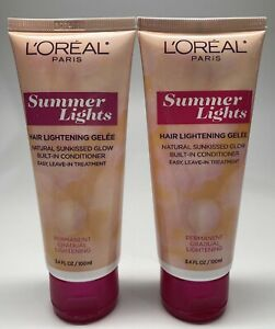 L'Oreal Paris Summer Lights Kit Dark to Light Blonde 02-NO BOX BRAND NEW 2 Pack