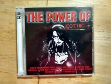 The Power of Gothic - 2 CD set of Goth Industrial Dance - Made in Germany