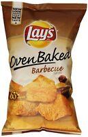 Oven Baked Lay's Potato Crisps, BBQ, 6.25 oz (3 Bags)