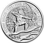 2021 1 Oz Silver £2 Great Britain ROBIN HOOD Myths N Legends BU Coin.