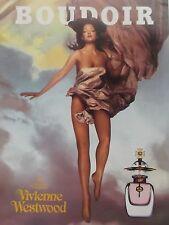 publicité de presse  PARFUM BOUDOIR de VIVIENNE WESTWOOD  en  1999 ref. 1596