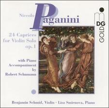 Paganini: 24 Caprices for Violin Solo Op. 1, New Music