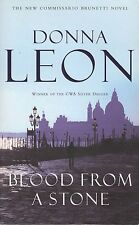 DONNA LEON Blood From A Stone (2005, Paperback)