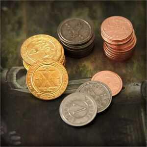 50 Metal Coin Upgrade Set