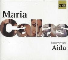 2 CD Box ♫ Compact disc **MARIA CALLAS ♦ AIDA ♦ GIUSEPPE VERDI** Slidepack Nuovo